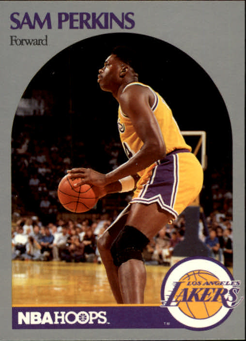 1990-91 Hoops #415 Sam Perkins U