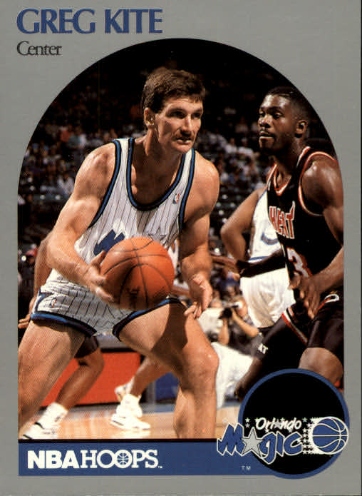 1990-91 Hoops #423 Greg Kite U