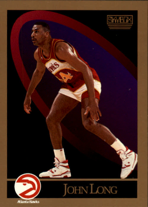 1990-91 SkyBox #5 John Long SP