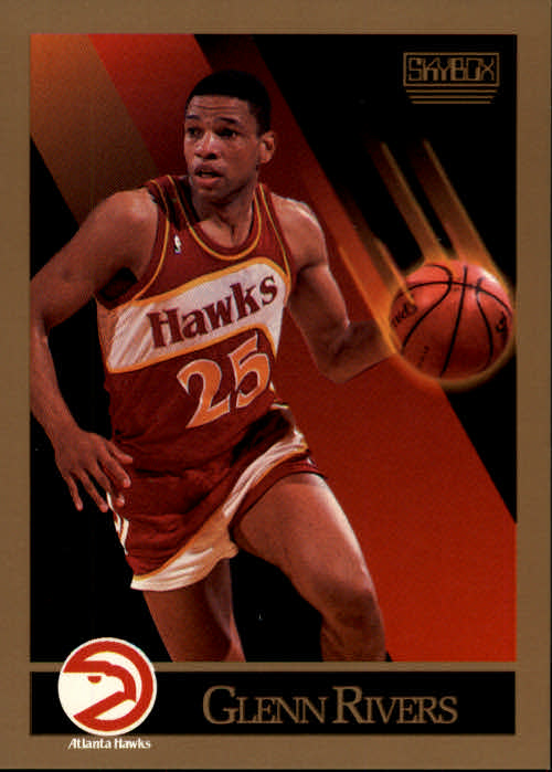 1990-91 SkyBox #7 Doc Rivers