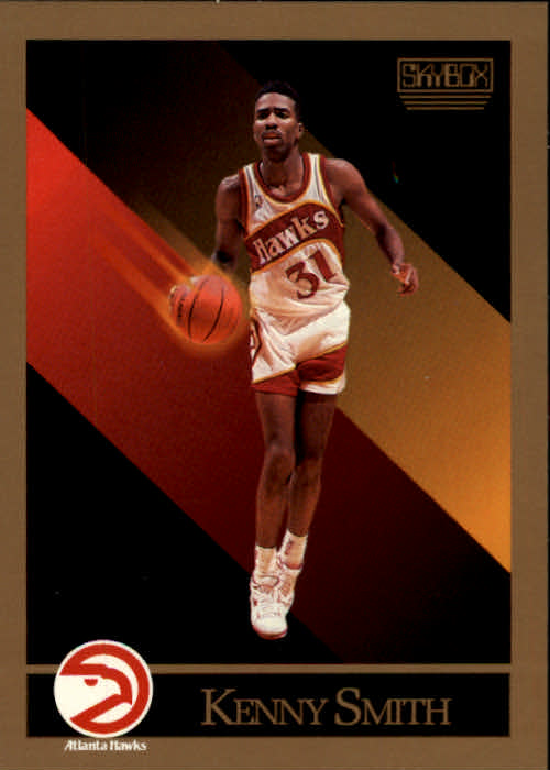 1990-91 SkyBox #8 Kenny Smith SP