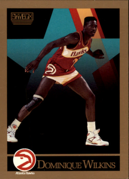 1990-91 SkyBox #11 Dominique Wilkins
