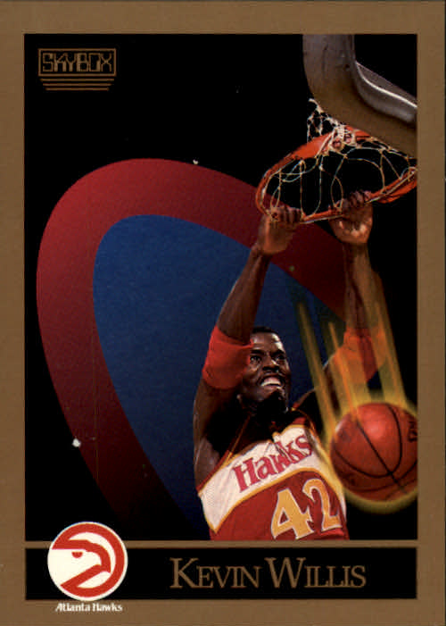 1990-91 SkyBox #12 Kevin Willis