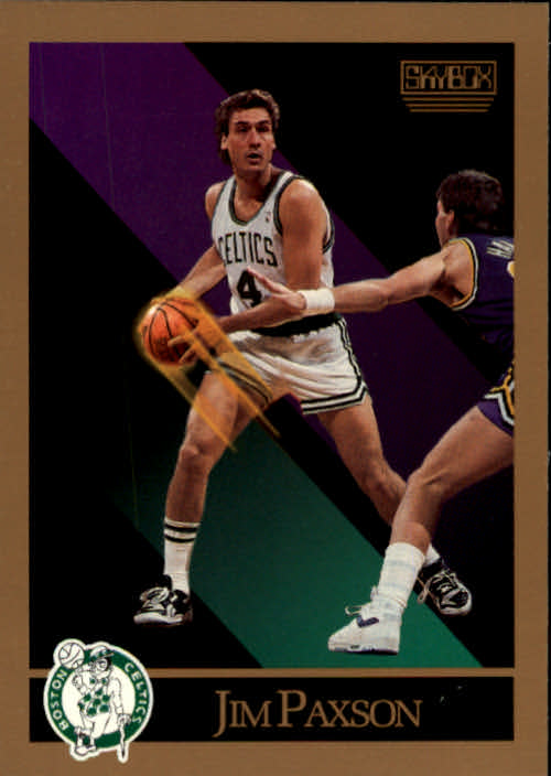 1990-91 SkyBox #21 Jim Paxson SP