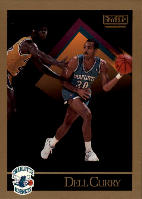 1990-91 SkyBox #28 Dell Curry