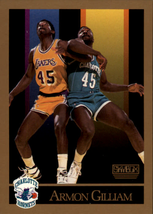 1990-91 SkyBox #29 Armon Gilliam