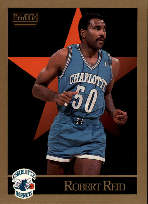 1990-91 SkyBox #33 Robert Reid SP