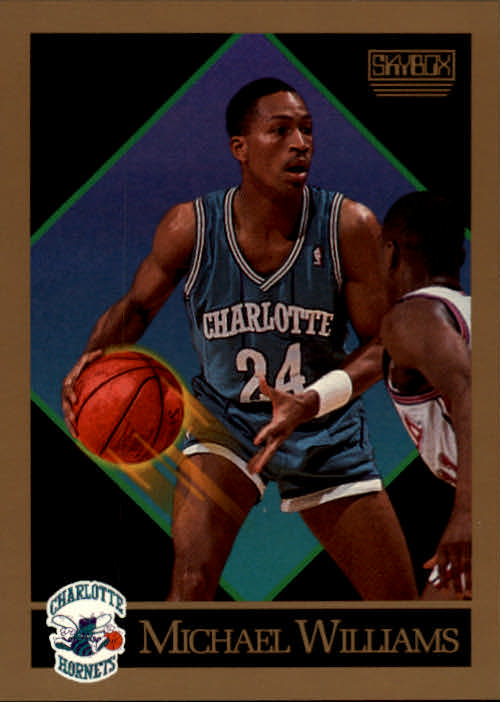 1990-91 SkyBox #36 Micheal Williams SP UER/(Misspelled Michael on card)
