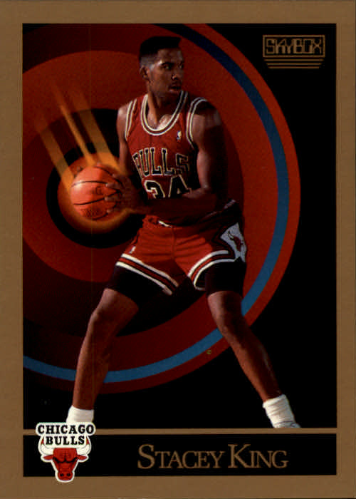 1990-91 SkyBox #42 Stacey King RC