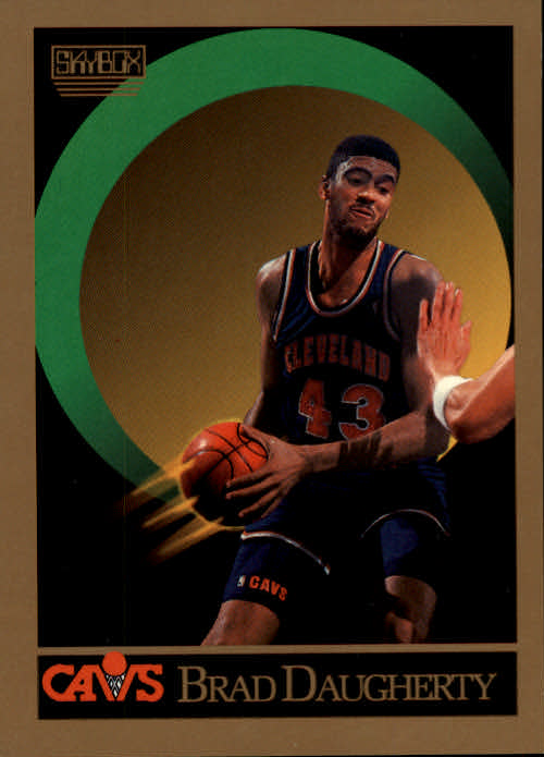 1990-91 SkyBox #50 Brad Daugherty