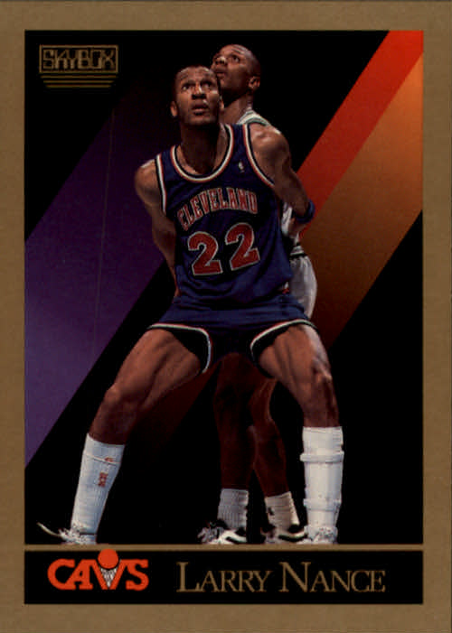 1990-91 SkyBox #55 Larry Nance