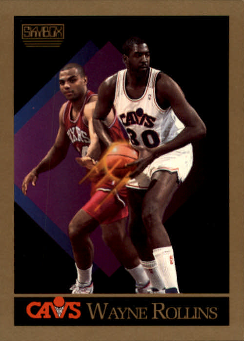 1990-91 SkyBox #57 Tree Rollins SP