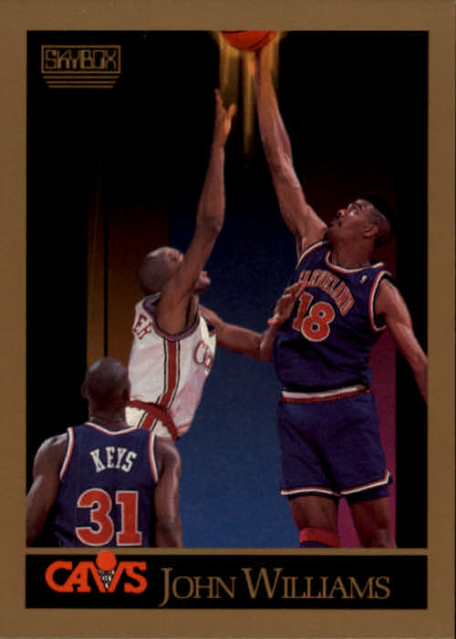 1990-91 SkyBox #58 Hot Rod Williams