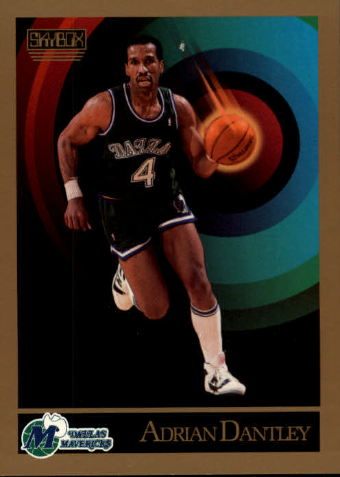 1990-91 SkyBox #61 Adrian Dantley SP