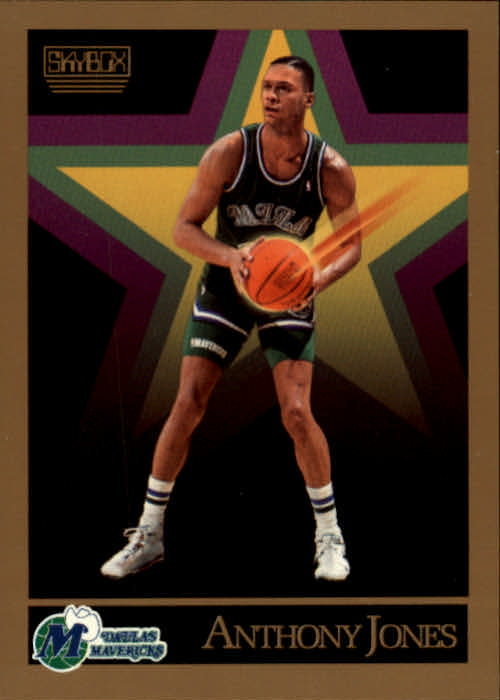 1990-91 SkyBox #65 Anthony Jones SP
