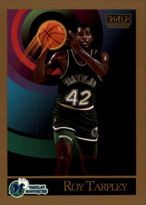 1990-91 SkyBox #67 Roy Tarpley
