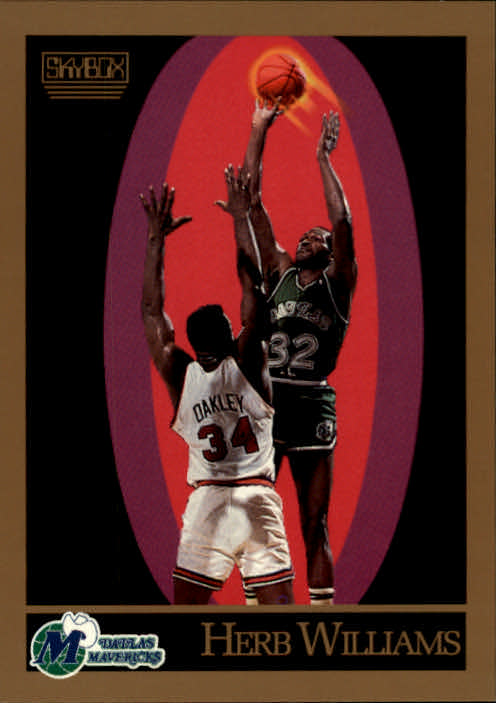 1990-91 SkyBox #70 Herb Williams