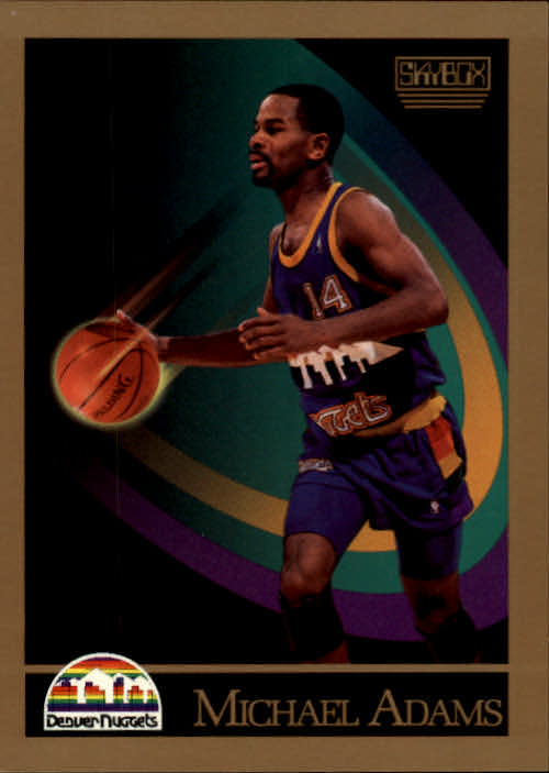 1990-91 SkyBox #71 Michael Adams