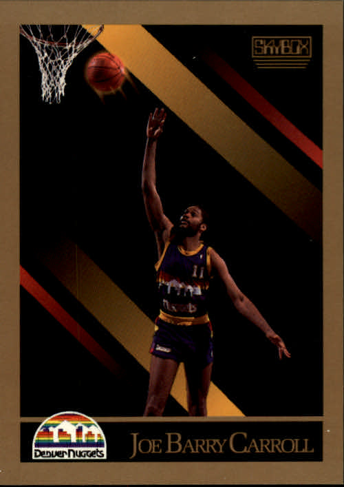 1990-91 SkyBox #72 Joe Barry Carroll SP