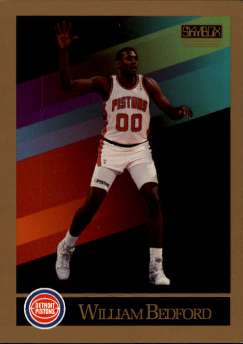 1990-91 SkyBox #83 William Bedford RC