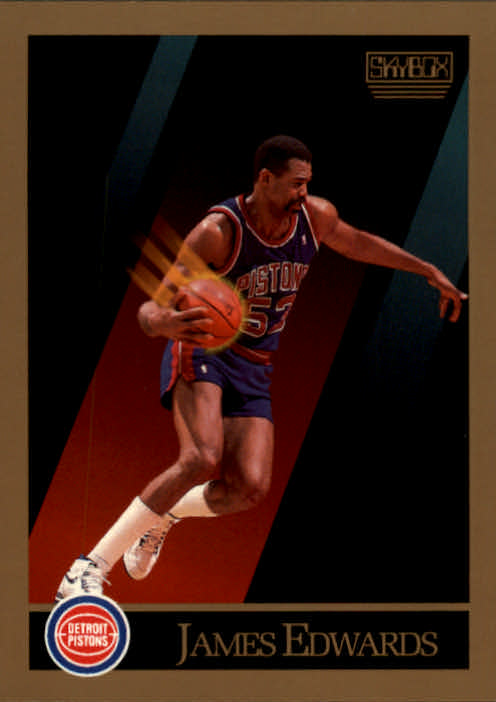 1990-91 SkyBox #85 James Edwards
