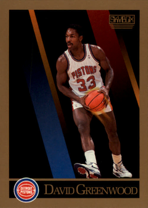 1990-91 SkyBox #86 David Greenwood SP