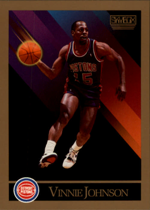 1990-91 SkyBox #89 Vinnie Johnson