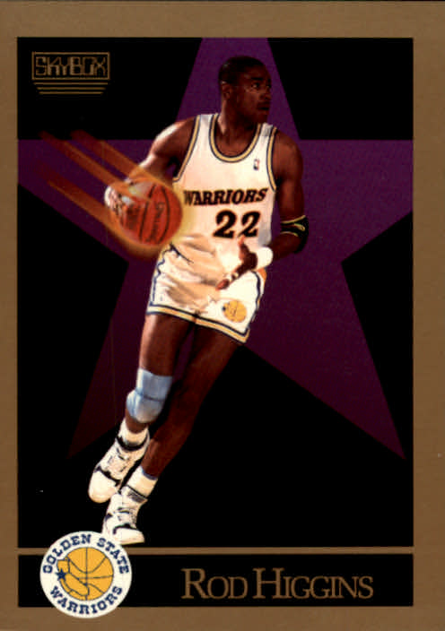 1990-91 SkyBox #96 Rod Higgins