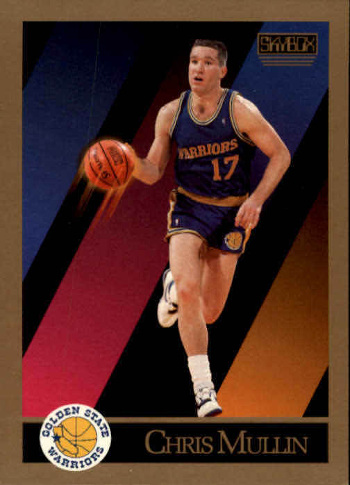 1990-91 SkyBox #98 Chris Mullin