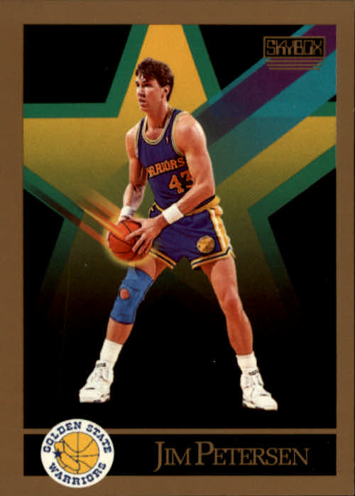 1990-91 SkyBox #99 Jim Petersen