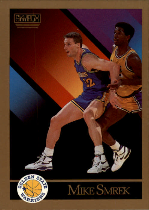 1990-91 SkyBox #101 Mike Smrek