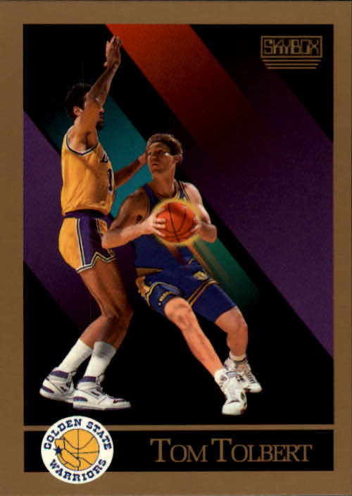 1990-91 SkyBox #103 Tom Tolbert RC