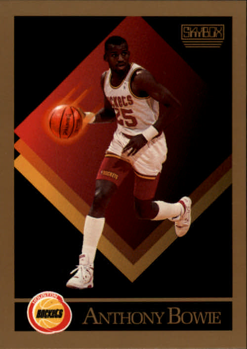 1990-91 SkyBox #105 Anthony Bowie SP RC