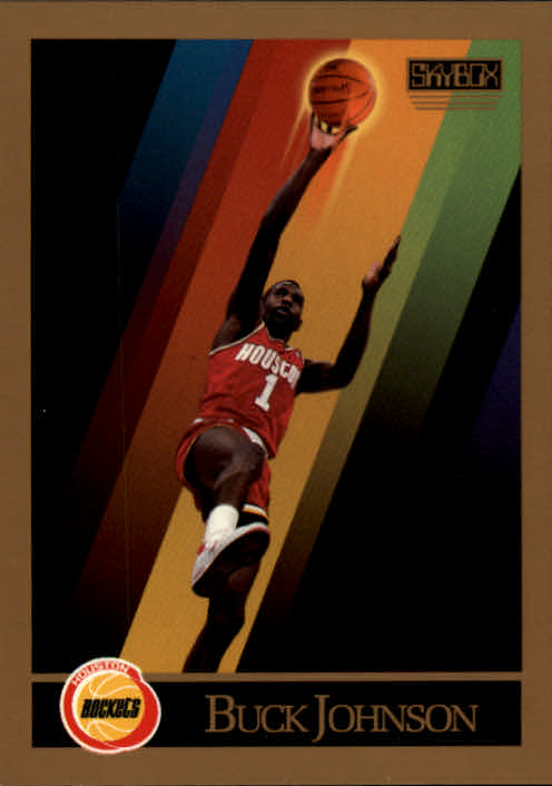 1990-91 SkyBox #108 Buck Johnson