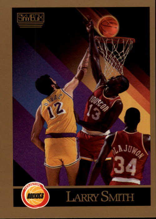 1990-91 SkyBox #111 Larry Smith