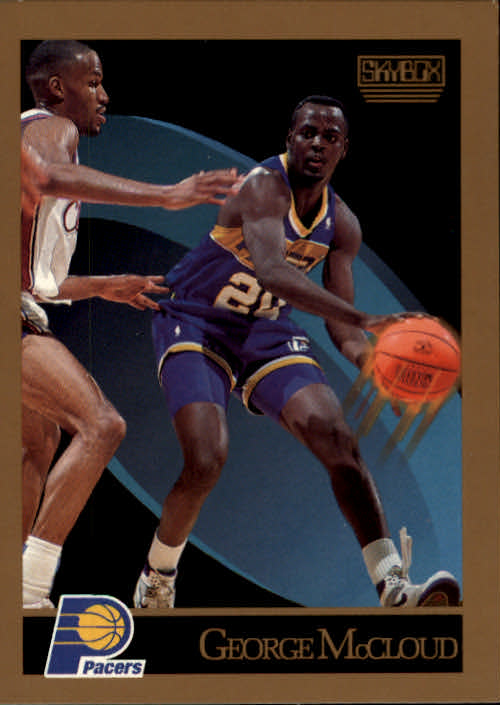 1990-91 SkyBox #116 George McCloud RC