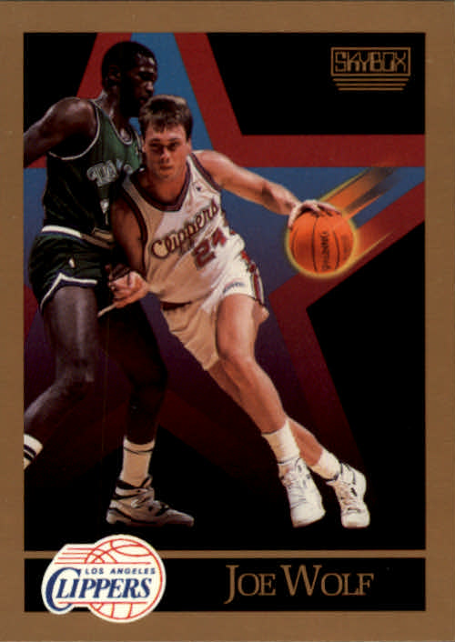 1990-91 SkyBox #133 Joe Wolf SP