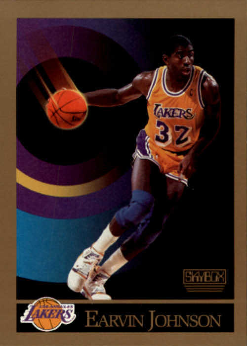 1990-91 SkyBox #138 Magic Johnson