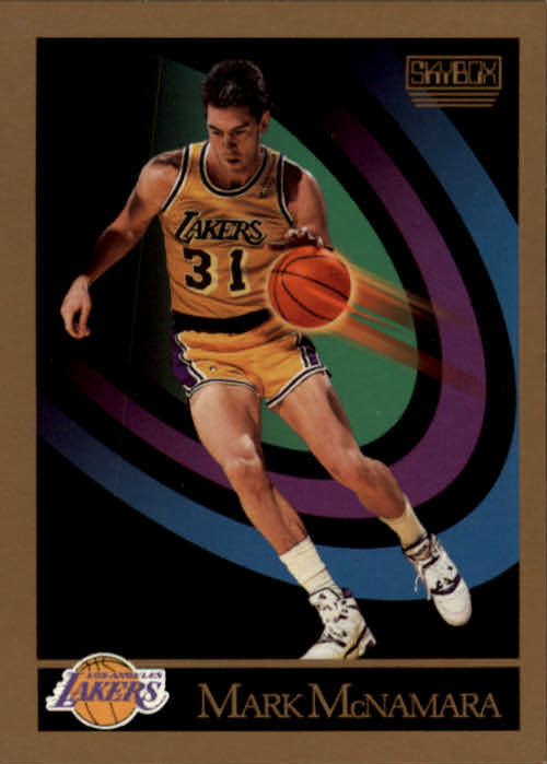 1990-91 SkyBox #139 Mark McNamara SP