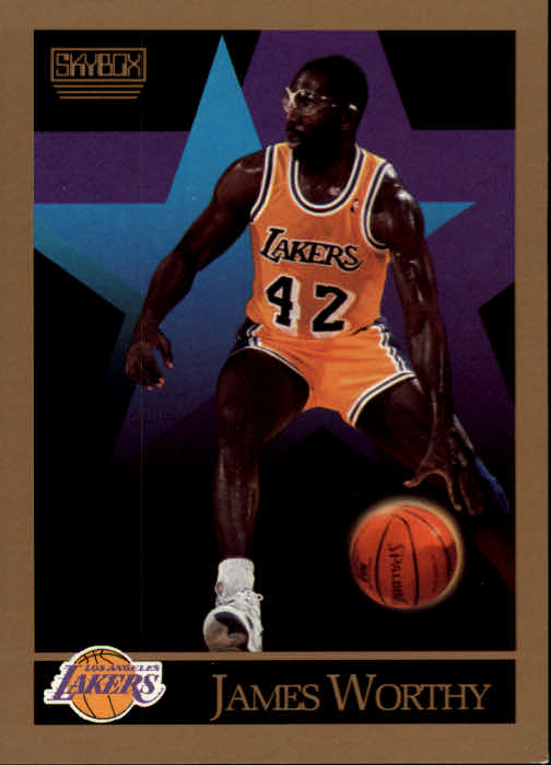 1990-91 SkyBox #143 James Worthy