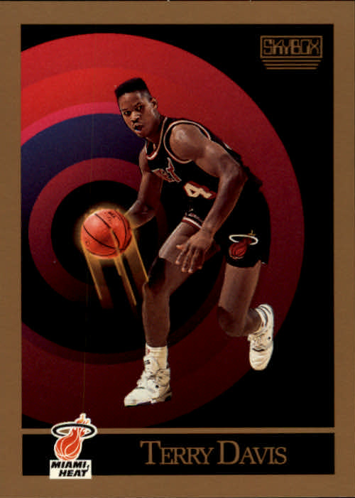 1990-91 SkyBox #144 Terry Davis RC