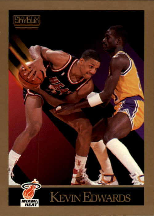 1990-91 SkyBox #146 Kevin Edwards