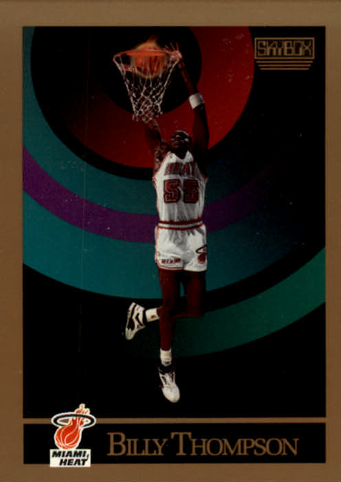 1990-91 SkyBox #154 Billy Thompson