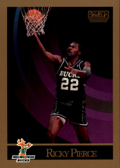 1990-91 SkyBox #162 Ricky Pierce