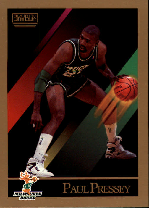 1990-91 SkyBox #163 Paul Pressey SP