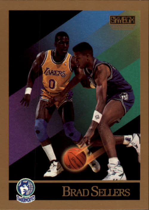 1990-91 SkyBox #175 Brad Sellers SP