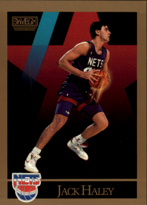 1990-91 SkyBox #180 Jack Haley RC