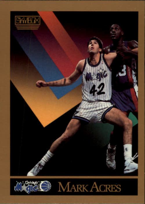 1990-91 SkyBox #198 Mark Acres