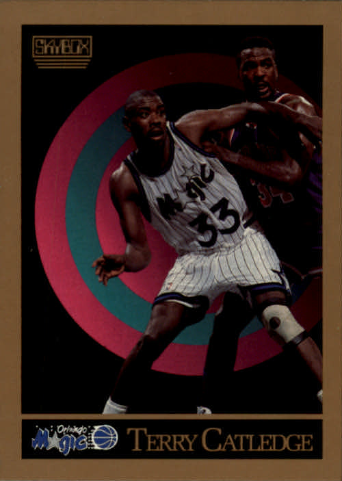 1990-91 SkyBox #201 Terry Catledge