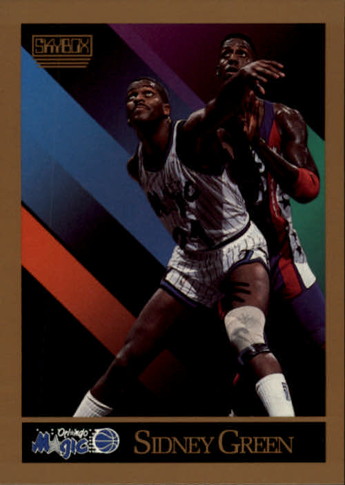 1990-91 SkyBox #203 Sidney Green SP